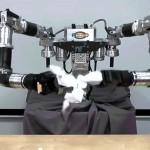 紙細工ロボット