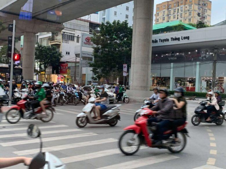 ベトナムの町並み