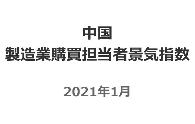 中国製造業購買担当者指数